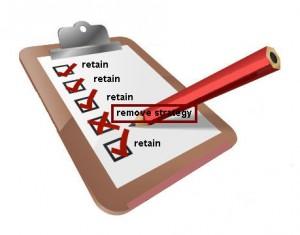 remove retain